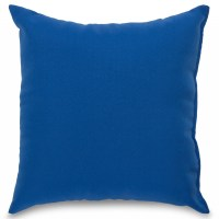 Royal Blue Outdoor Throw Pillow | DFOHome