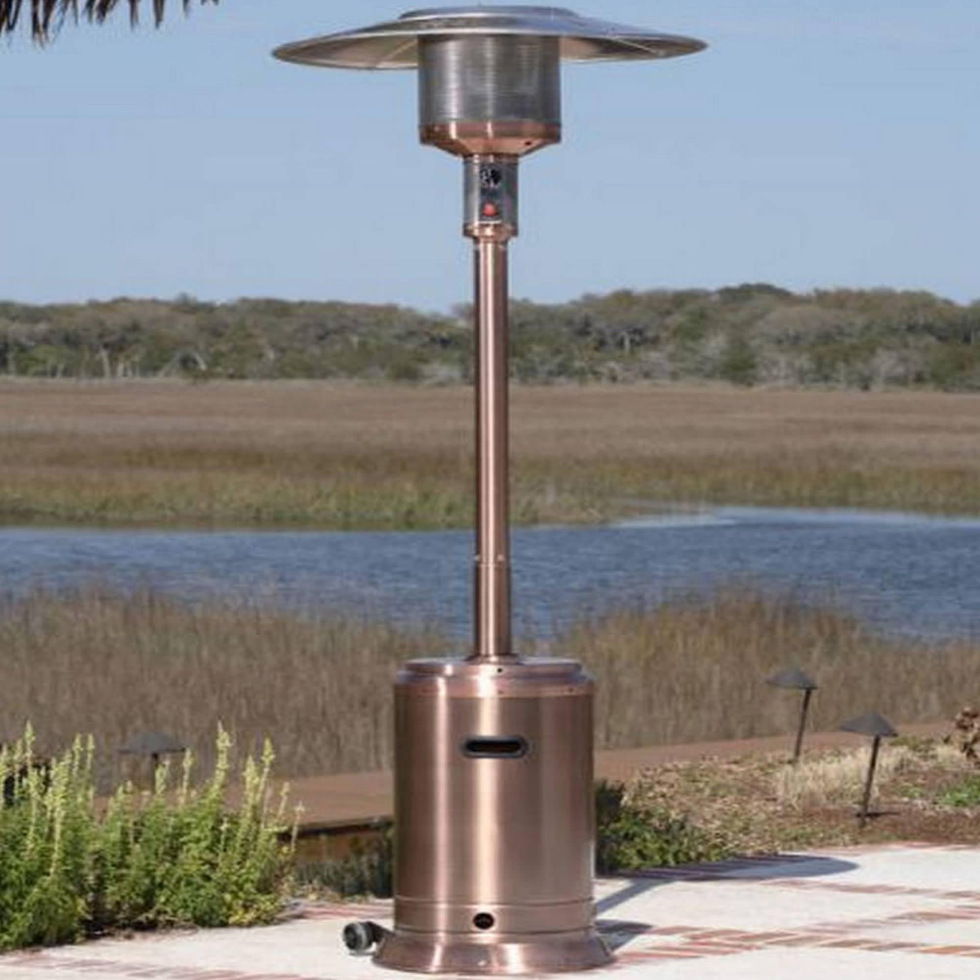 Fire Sense Copper Commercial Patio Heater