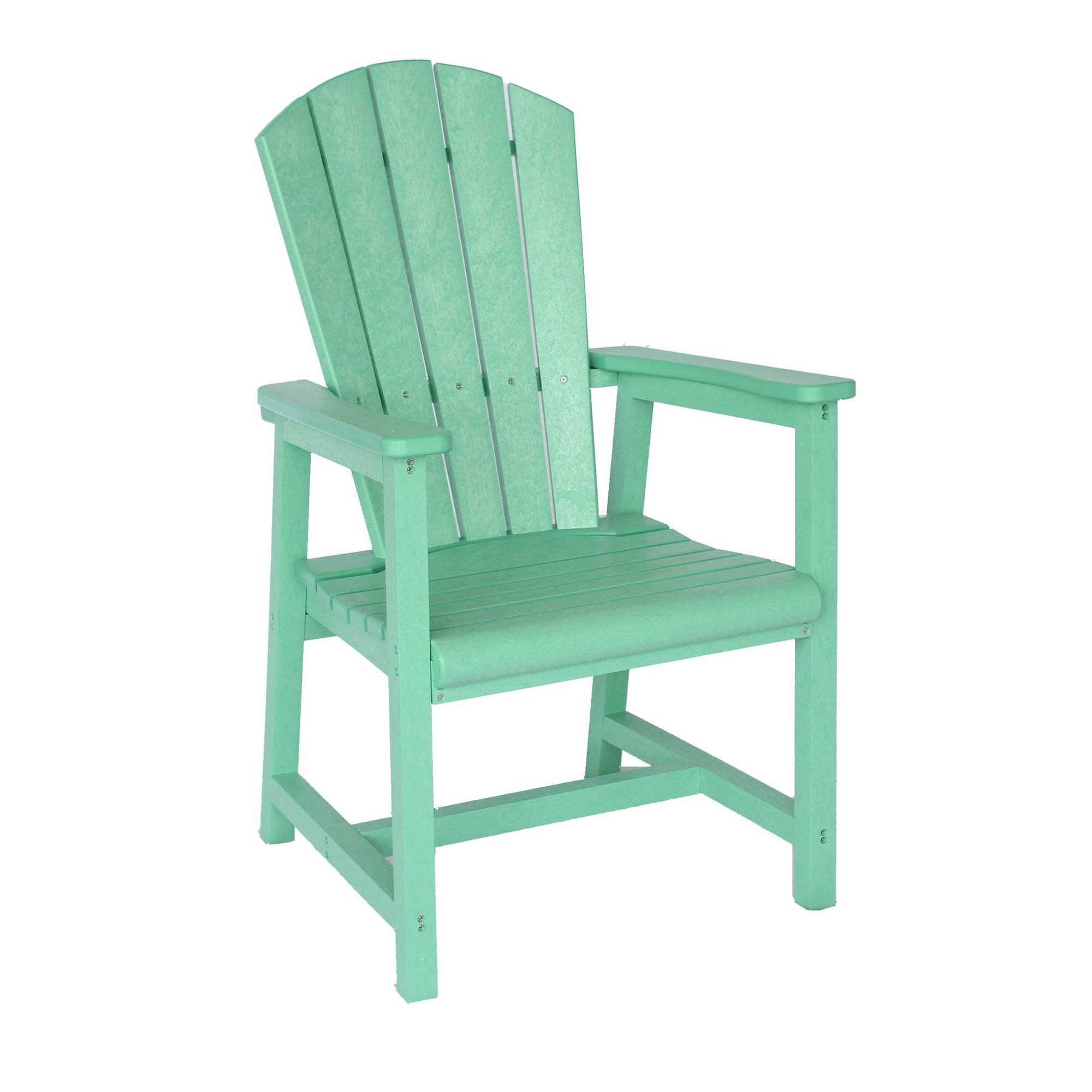 adirondack style dining chairs zero gravity massage chair reviews mint green upright polywood outdoor crp c10