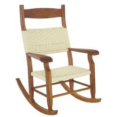 Semco Rocking Chair Round Kitchen Table With Caster Chairs Exterior Limetennis