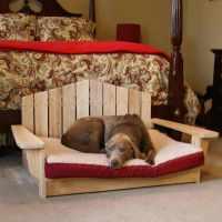 Adirondack Dog Chair| PT-DOGBED-LG | dog chair | DFOHome