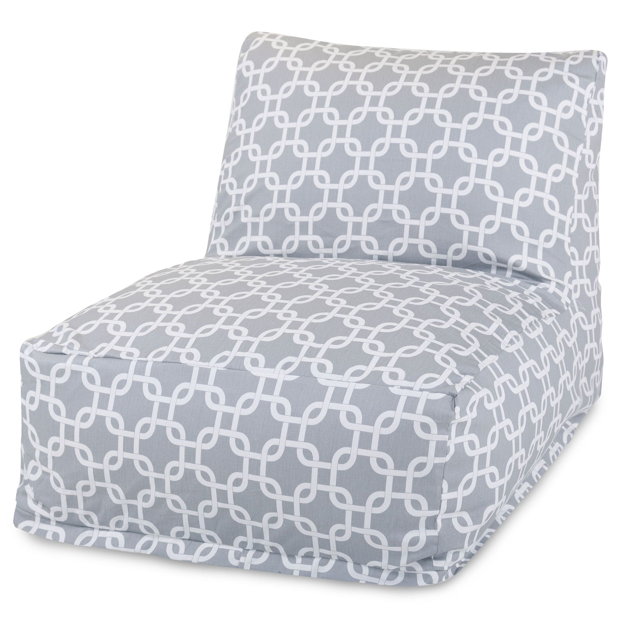 Outdoor Bean Bag Chairs Grey Links Outdoor Bean Bag Chair Dfohome