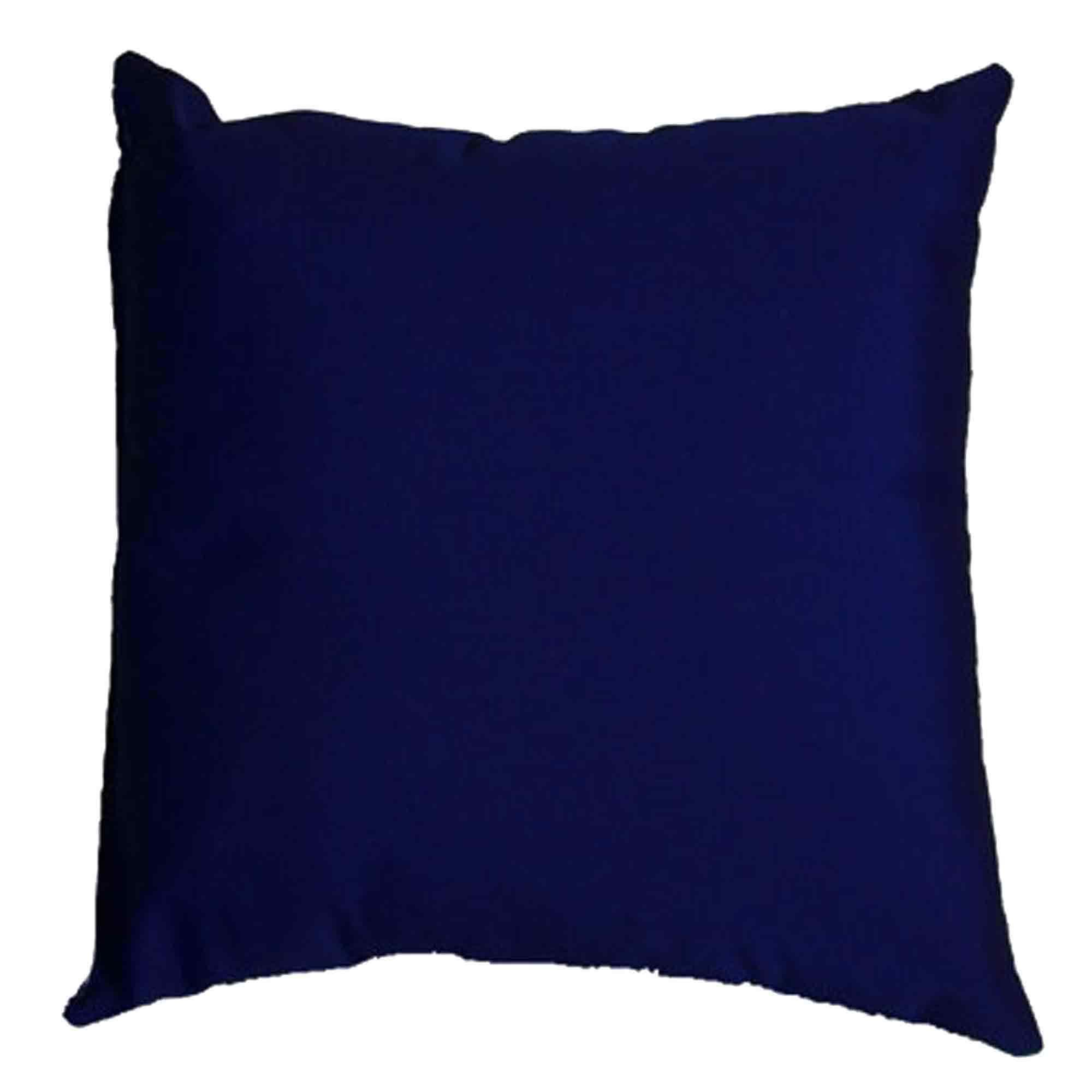 Navy Sunbrella Outdoor Throw Pillow