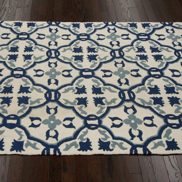 Ivory Bella Outdoor Rug 5ft X 8ft - Nuloom; Rugs; Outdoors Dfohome