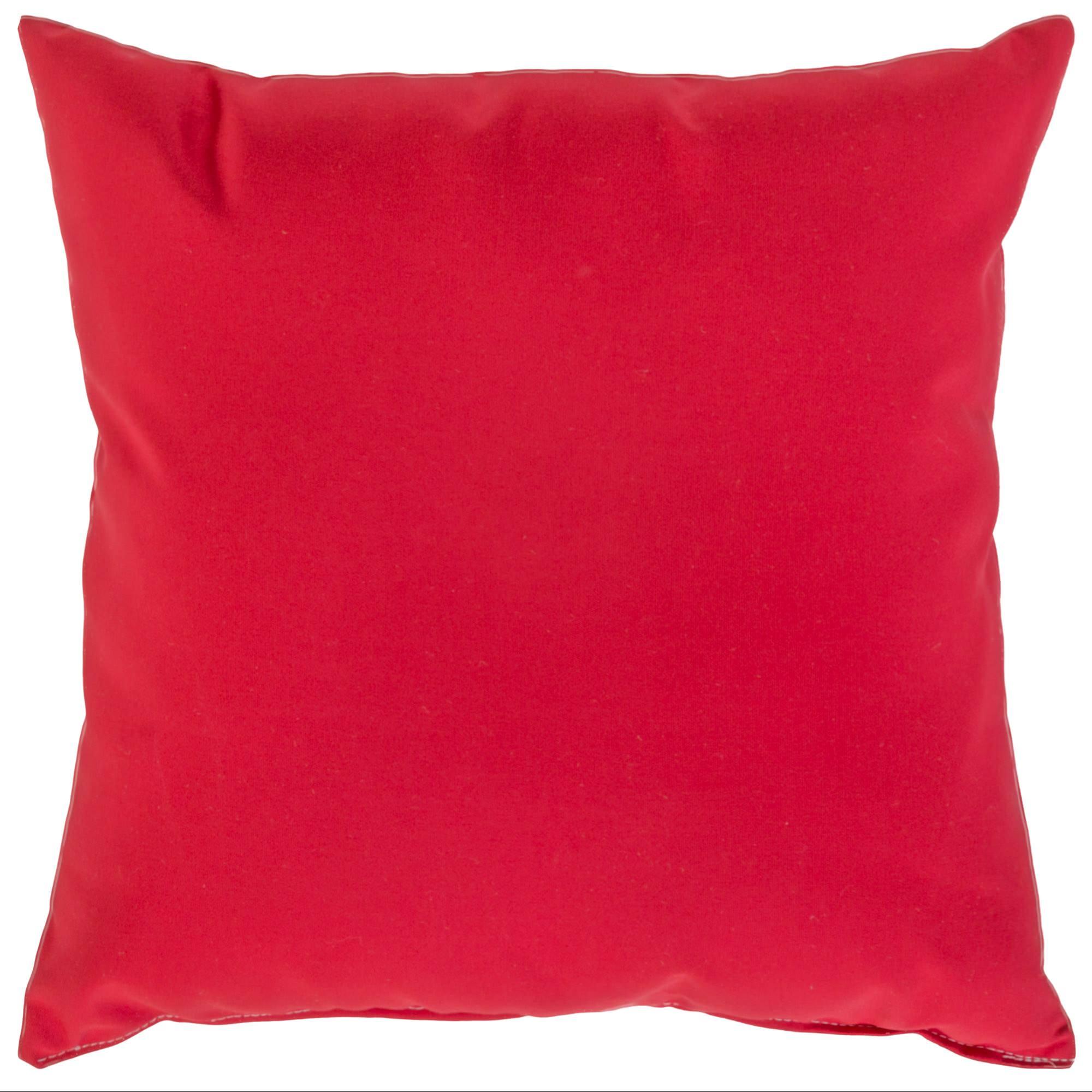 Jockey Red Sunbrella Outdoor Throw Pillow  DFOHome