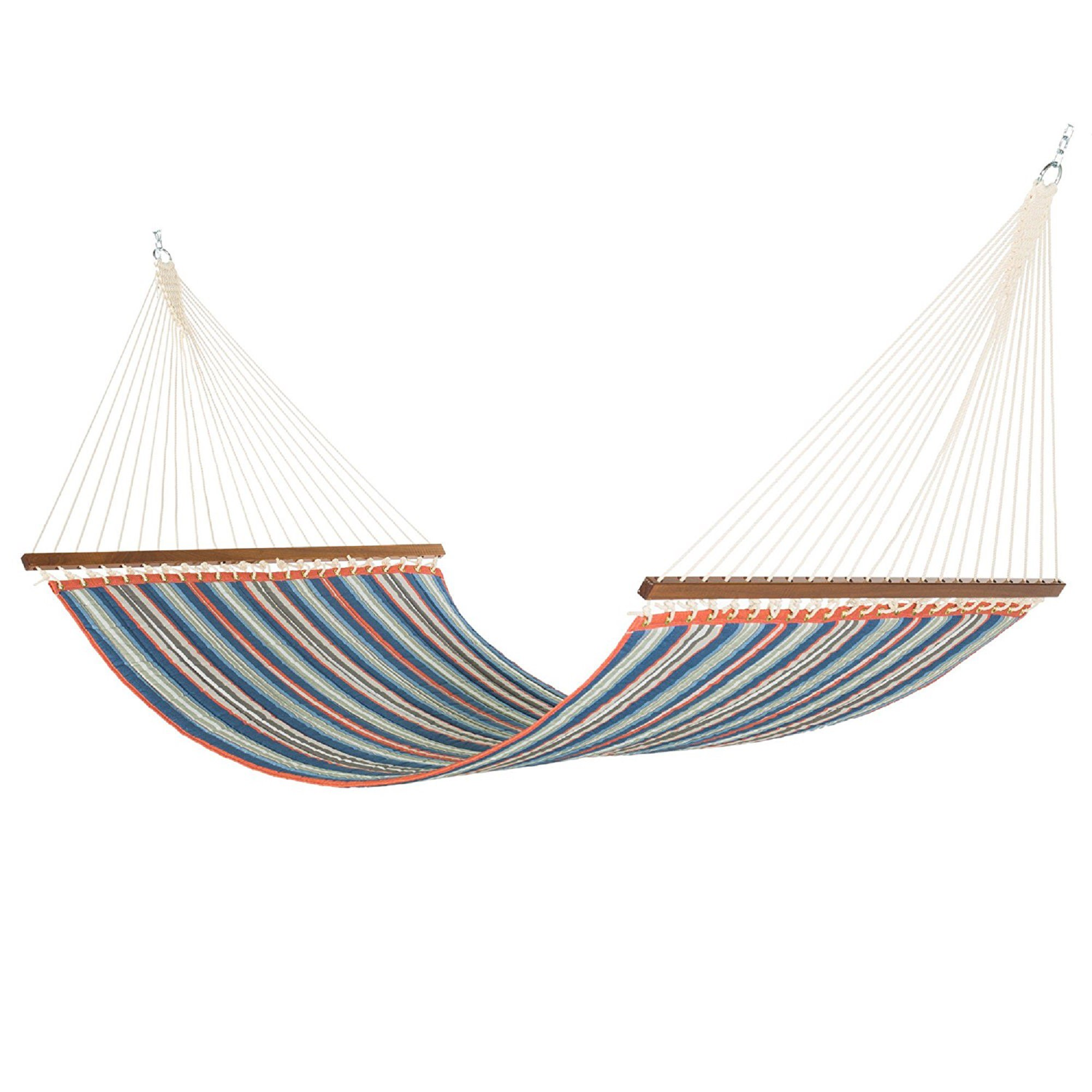 Large Red Amp Blue Stripe Quilted Hammock