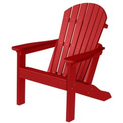 Adirondack Chairs Plastic Office Chair For Back Pain Comfo Scarlet Red Berlin Gardens
