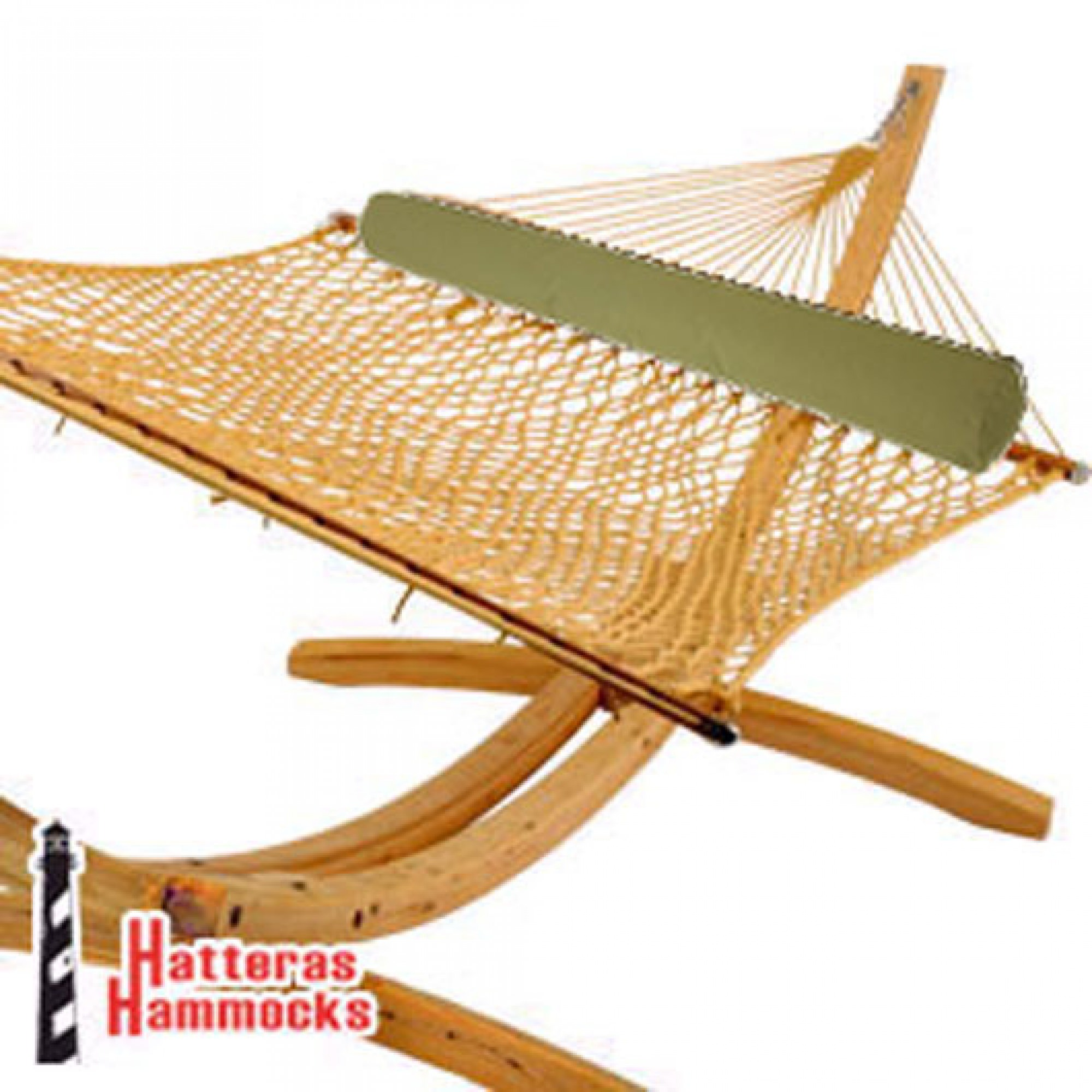 Shop Roman Arc Cypress Stand Duracord Hammock And Pillow