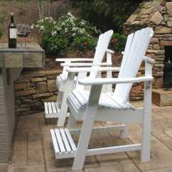 Double Adirondack Chairs With Umbrella Wicker Swing Chair Sale Painted Balcony Pub Dfohome