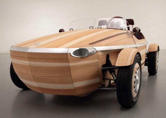 carro de madeira