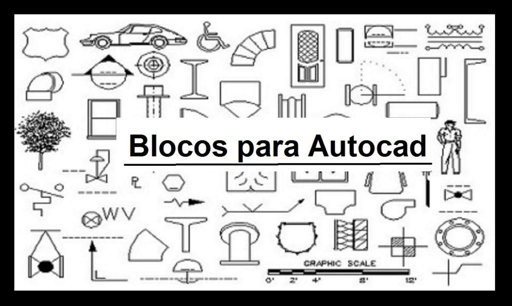 3D AUTOCAD PARA BAIXAR BLOCOS EM