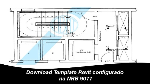 Download Template Revit configurado na NRB 9077