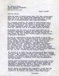 franklin-peanuts-letter