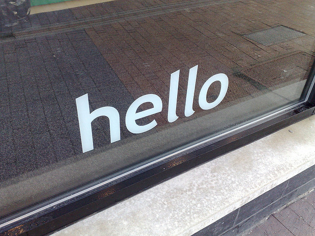 Q&A: How Should We Brand Our Welcome Desk?