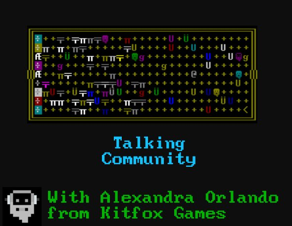 Ep. 48: In Which We Talk Community With Kitfox Games' Alexandra Orlando