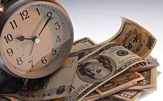 美元通货膨胀。  jpg