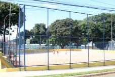 inauguração do campo de areia Foto : Carlos André ASCOM