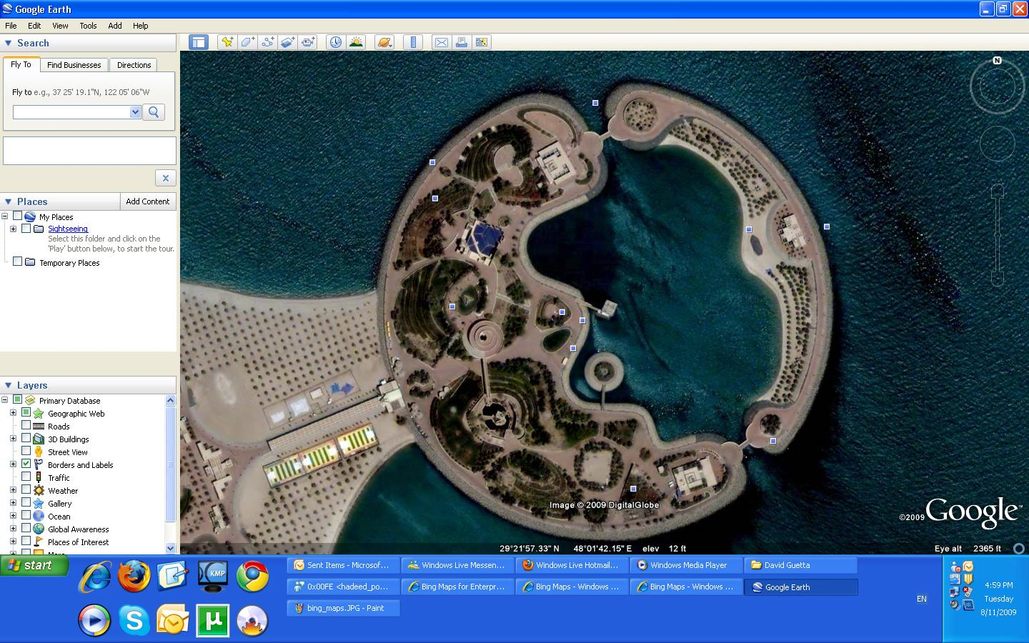 The Mighty Google Earth !