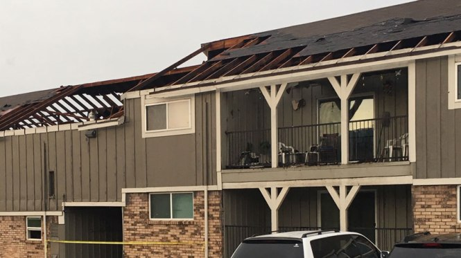 14 Families Displaced After Tornado