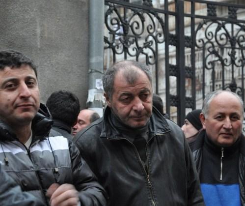 minibus drivers on strike 2013-01-25