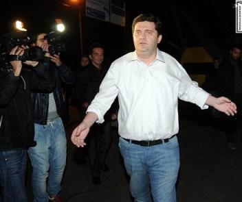 bacho akhalaia detained 7 november 2012 -