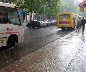 heavy rain in Tbilisi 2013-06-27