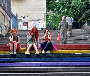 Invisible Protest for May 17, 2014, Tbilisi, Georgia (DFWatch)