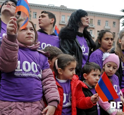 Ethnic Armenians demand from Turkey and the government of Georgia to recognize Armenian genocide (DFWatch)