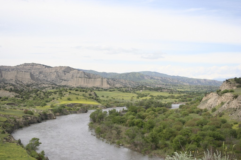 Alazani river