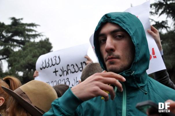 Protest of tvitmmartveloba (DFWatch)