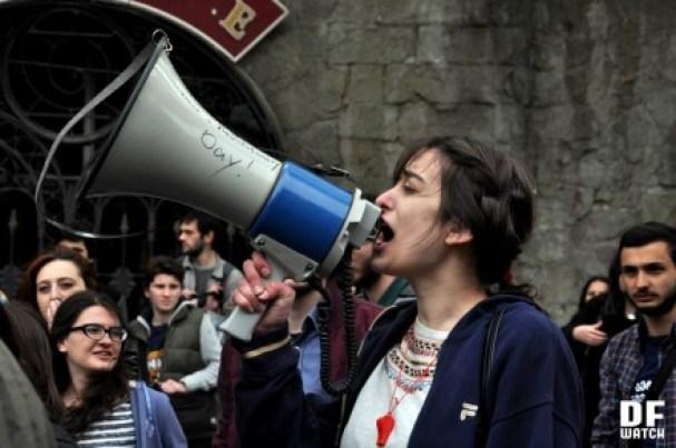 Protest auditorium