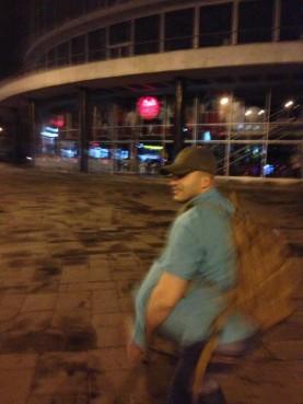 Picture of presumable attacker from Levan Berianidze's Facebook