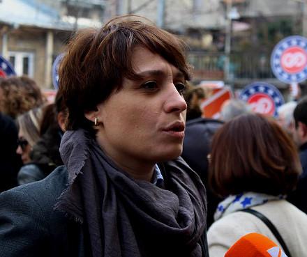 Elene Khoshtaria is European Georgia's candidate for mayor of Tbilisi.