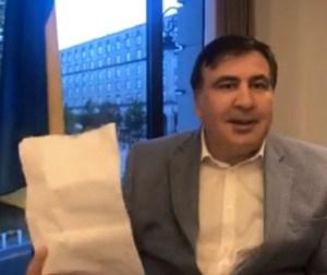 Mikheil Saakashvili vows to return to Ukraine
