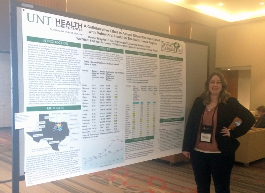 Foundation interns present study at TPHA Conference