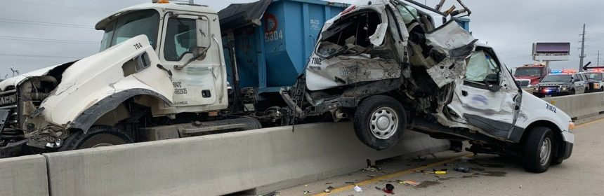 Major delays on Loop 12 & 183 in Irving due to multi-vehicle crash