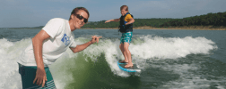 Wakesurfing Lessons- Your Boat
