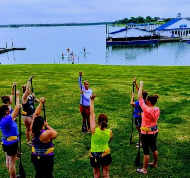 Womens Wednesdays Paddleboarding at Hidden Cove Park Frisco TX