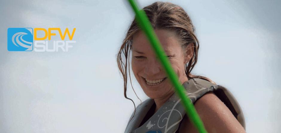 First Time Wakesurfing with Sheyenne Sullivan