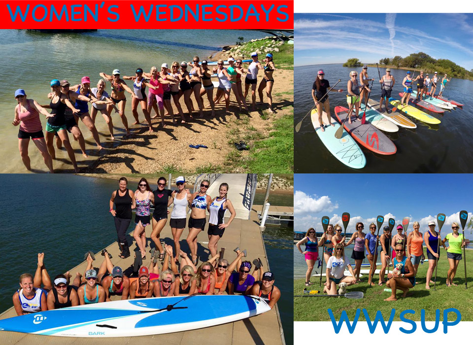 Womens Wednesdays Paddleboard Classes at DFW Surf in Frisco
