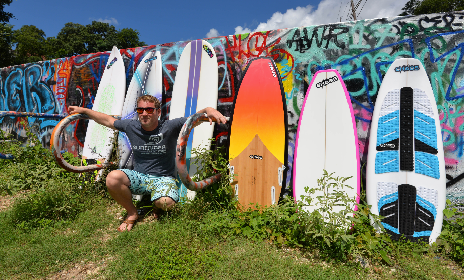 Nick Wiersema Chaos Surfboards and Shredstixx