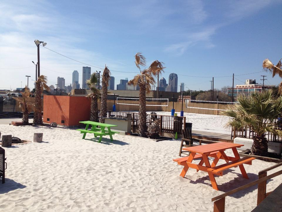 Sandbar Volleyball Venue near Deep Ellum Dallas