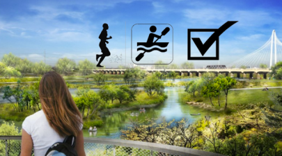 Trinity River Park Running and Paddlesports Paradise