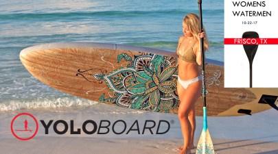 Womens Watermen Yolo Board Frisco TX