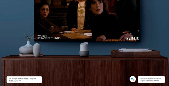 Enceinte intelligente Google Home