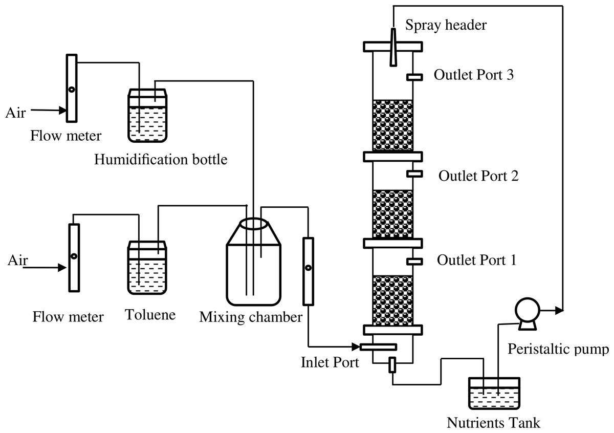 A Biofilter For Treating Toluene Vapors Performance