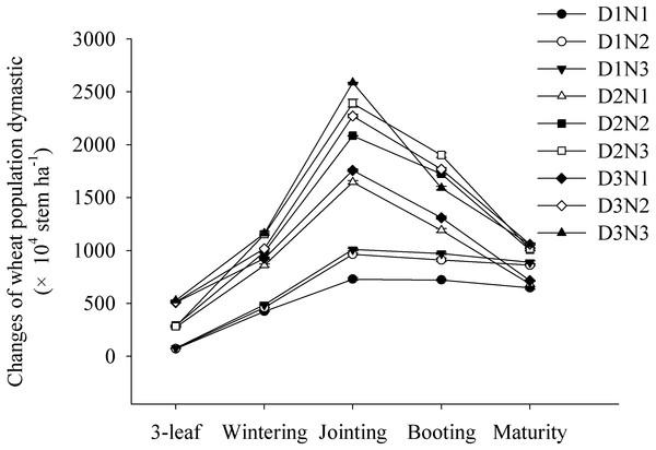 Optimizing plant density and nitrogen application to
