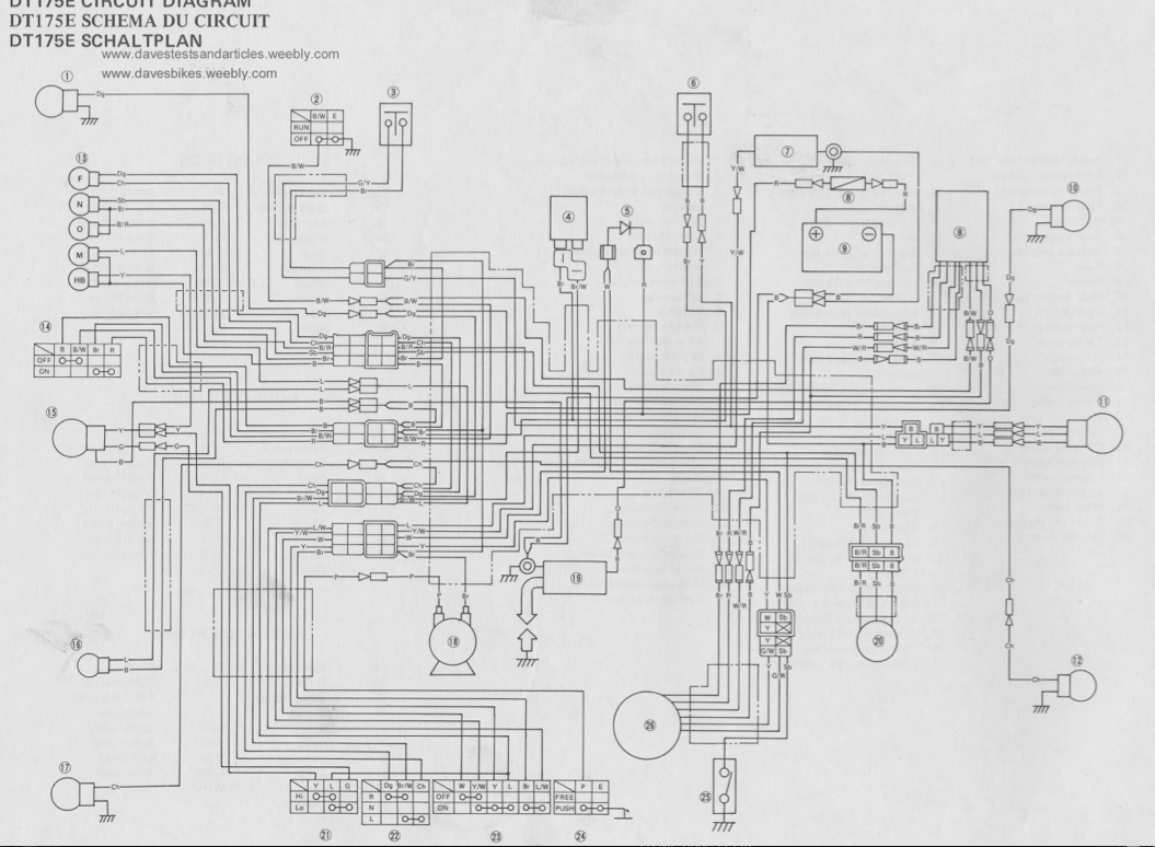 hight resolution of yamaha dt 175 wiring diagram wiring diagram blog yamaha dt 175 mx wiring diagram wiring diagram yamaha dt 175