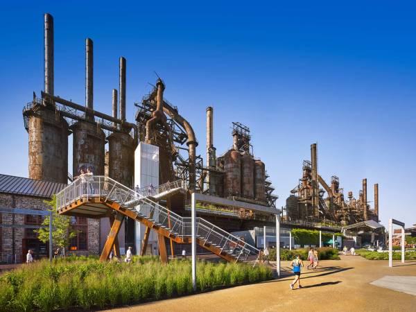 post-industrial landscape design