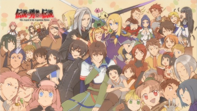 Anime like The rising of the shield hero - The Legend Of The Legendary Heroes